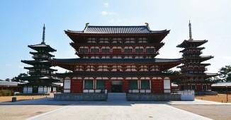 yakushiji temple ost und west pagoda